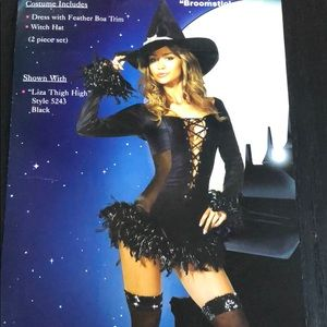 Sexy Witch Halloween Costume 🎃